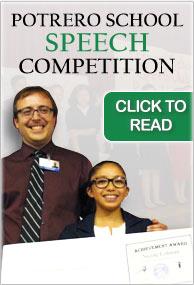 Potrero School Speech Competition